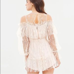 7681f262388 Alice McCall Pants - ALICE MCCALL Nude One In a Million Lace playsuit👑